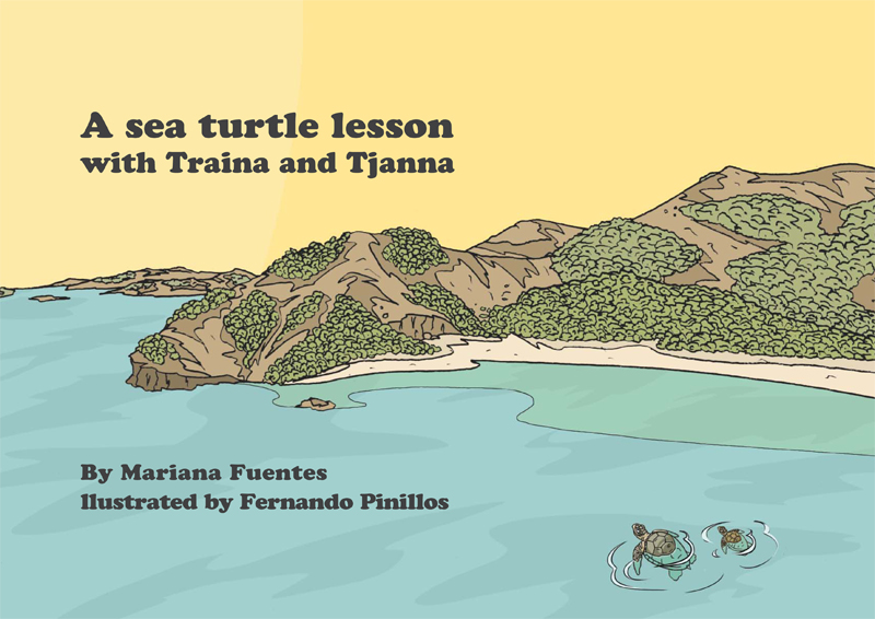 Sea turtles outreach book